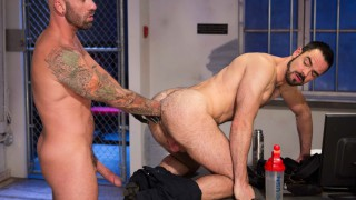Long Arm Of The Law Part 1, Scene 3 - Drew Sebastian & Dolan Wolf