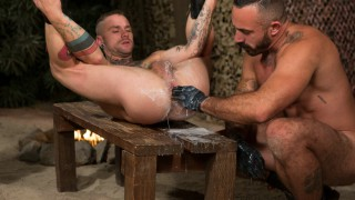 Fire In The Foxhole, Scene 3 - Alessio Romero & Cylus Kohan