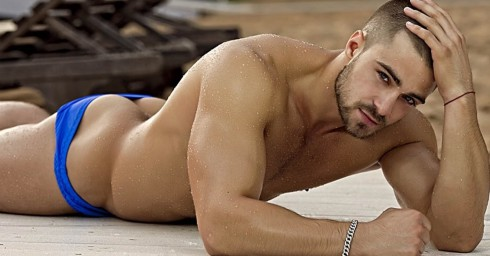 Nice Ass in Blue Speedo