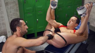 Fisting Big Leagues, Scene 4 - Andreas Cavalli & Evan Matthews