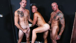 Warehouse Hookup Part 3 - Sean Duran, Jimmie Slater & Saxon West