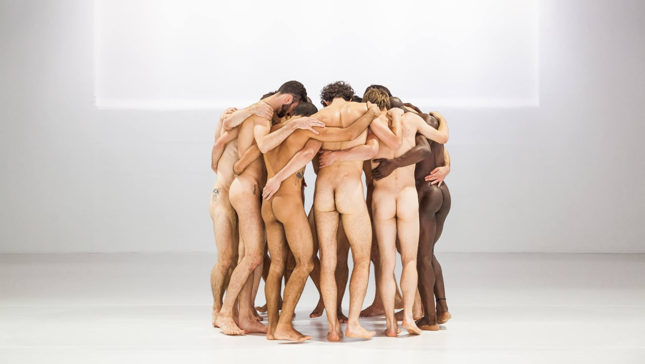 Rearview a Bunch of Naked Guys