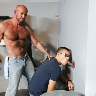 Glory Hole Birthday Surprise - Sean Duran, Matt Stevens & Jason Barr