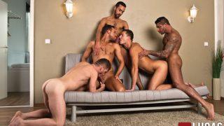 Alex Lopez, Raul Korso, Fostter Riviera, Theo Ford & Logan Moore