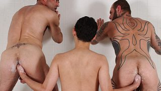HandPacked 2: ManPacked, Scene 3 - Bud, David Verando, Mark Reed & Richard Duke