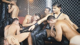 Sting: A Taste For Leather (Vintage) Scene 2 - Nick Riley, Chad Kennedy, Cameron Fox, Virgil Sainclair & Chip Noll
