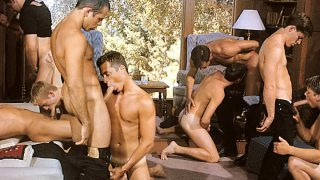 No Way Out (Vintage) Scene 5 - Colby Taylor, Michel Mattel, Cameron Fox, Anthony LaFont & Sebastian Gronoff