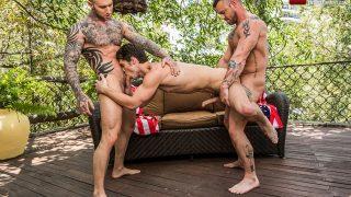 Sergeant Miles, Dylan James & Devin Franco
