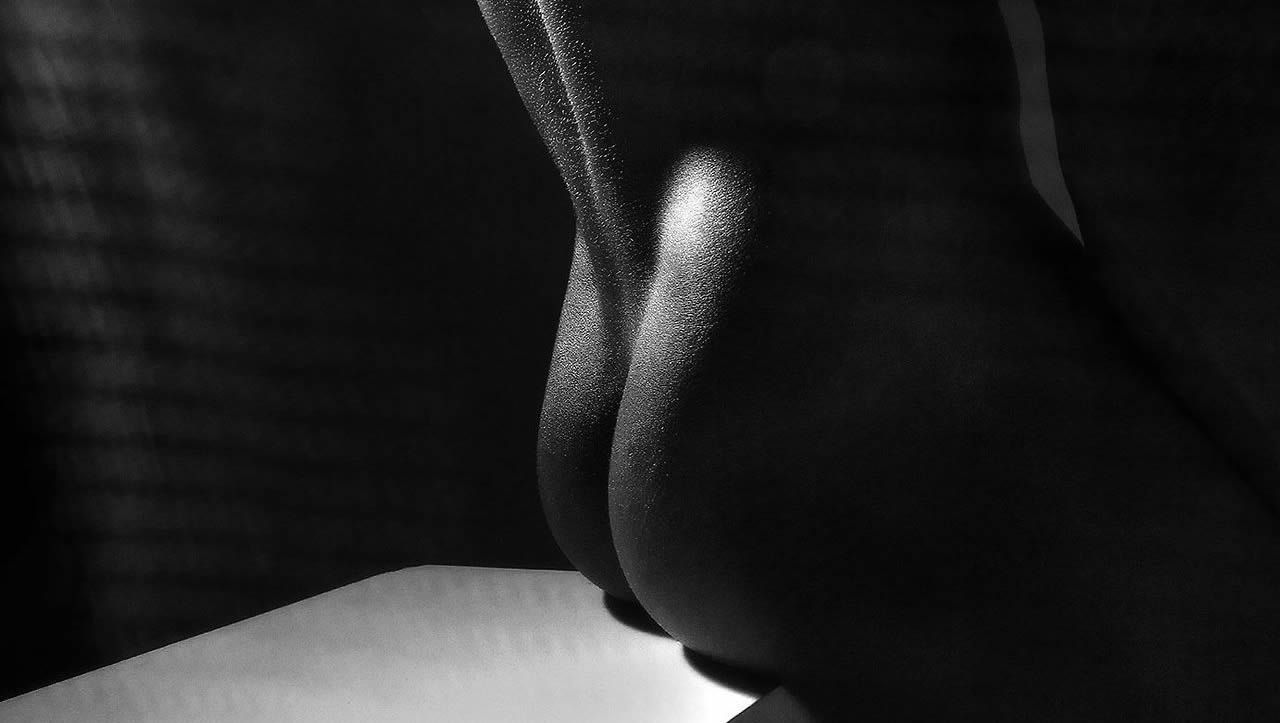 Black and White Bodyscape Nice Ass