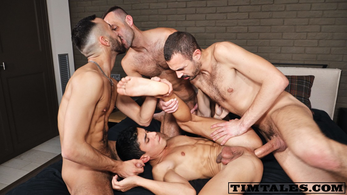 Bbcs gangbang and breed my fertile wife 5