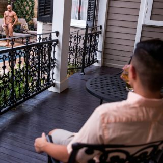 Love & Lust in New Orleans, Scene 2 - Sean Zevran & Cooper Dang
