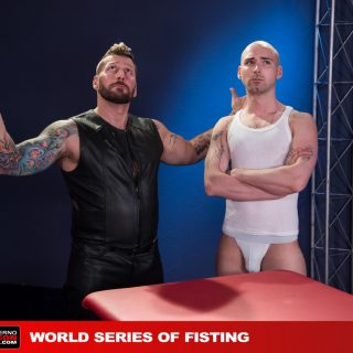 World Series Of Fisting, Scene 1 - Hugh Hunter & Sam Syron