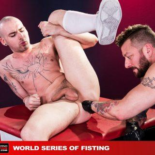 World Series Of Fisting, Scene 2 - Hugh Hunter & Sam Syron