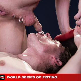 World Series Of Fisting, Scene 4 - Axel Abysse, Joey D & Colin Bryant