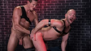 Fistin Alley, Scene 1 - Mike Tanner & Pierce Paris