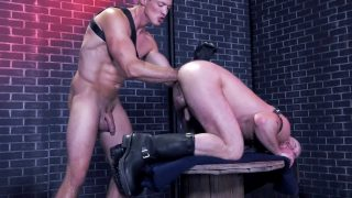Fistin Alley, Scene 2 - Mike Tanner & Pierce Paris