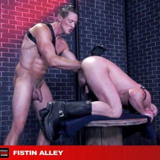 Fistin Alley, Scene 2 - Mike Tanner & Pierce Paris