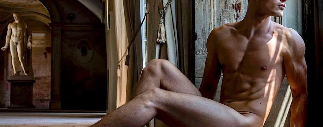 Artistic Nude Athletic Young Stud