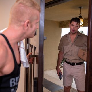 Service Me!, Scene 3 - Johnny V & Tyler Roberts