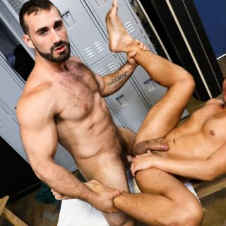 Worship My Big Muscles And Fat Cock - Jaxton Wheeler & Aston Springs
