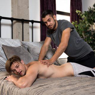 Roomie Rub Down - Charlie Pattinson & Dante Cole