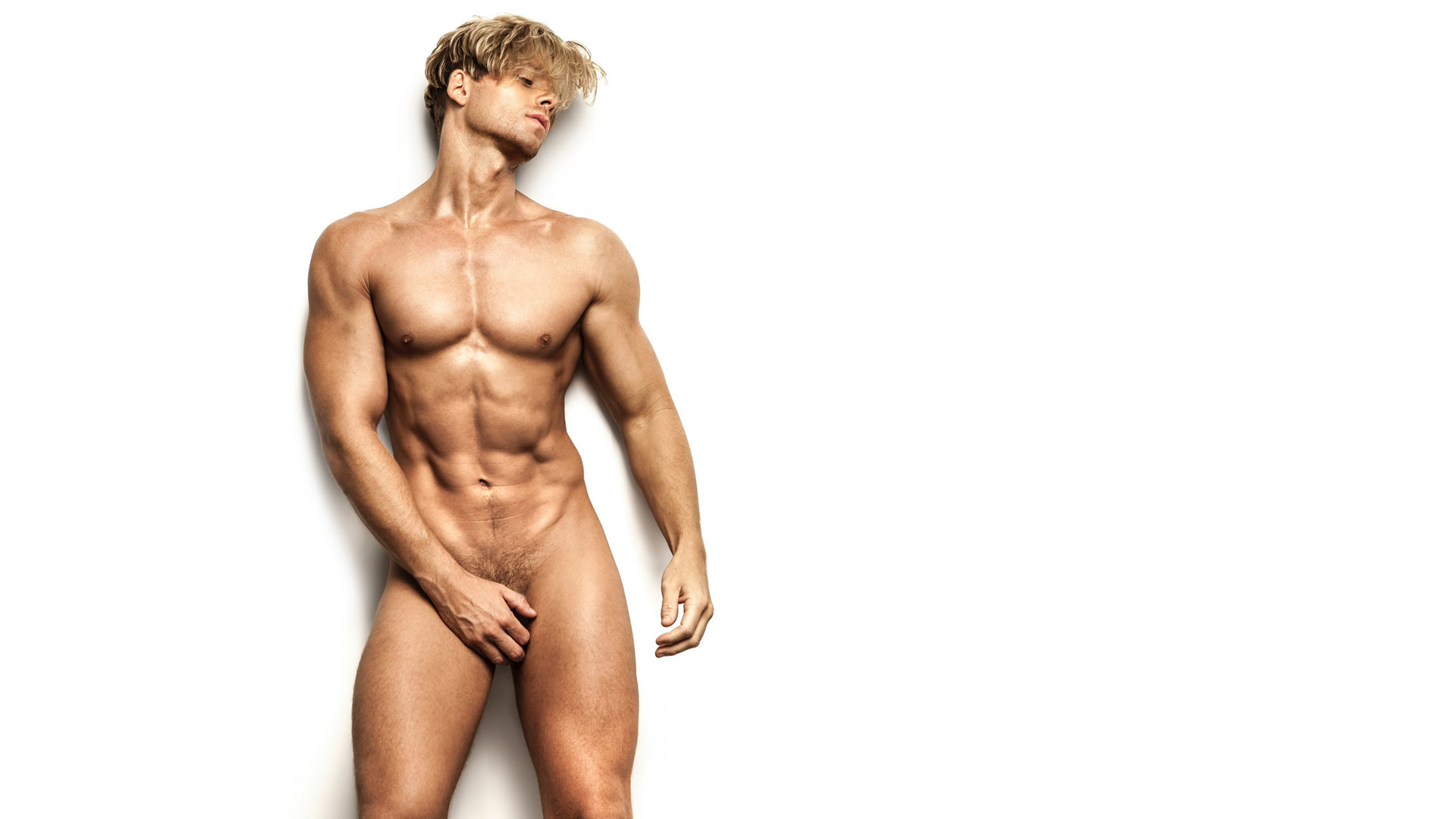 Artistic Nude Athletic Young Guy