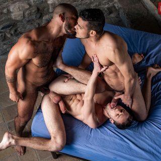 Drake Rogers, Rico Marlon & Louis Ricaute