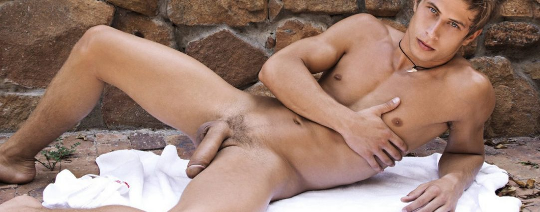 Full-Frontal Athletic Young Guy with a Big Dick