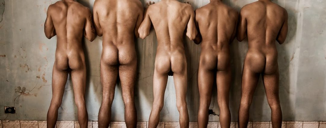 Rearview Five Naked Guys