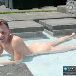Summer Pool Play - Luke Kennedy & Mars Rousseau