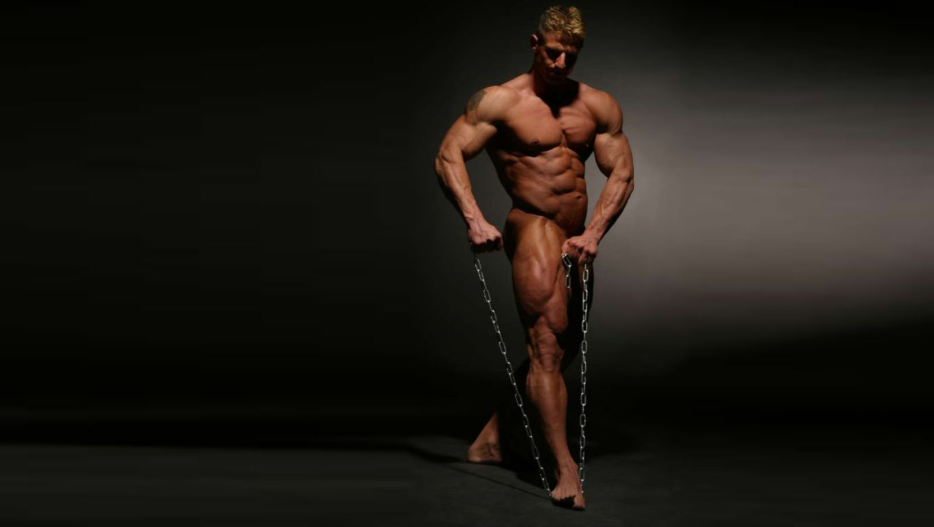 Naked bodybuilder free