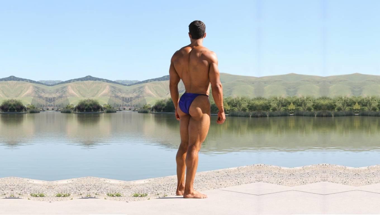 Men's Buck Naked Underwear