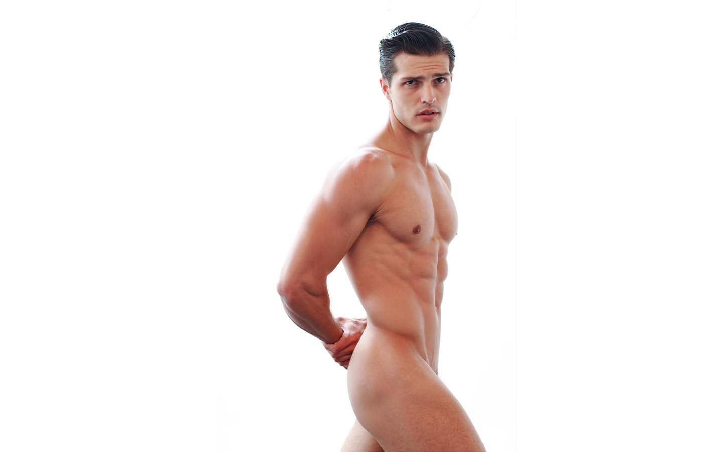 Sexy Man Naked Body Young Guy Stock Photo