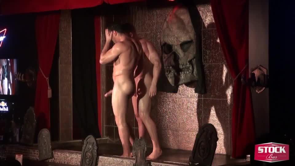 Shower male stripper