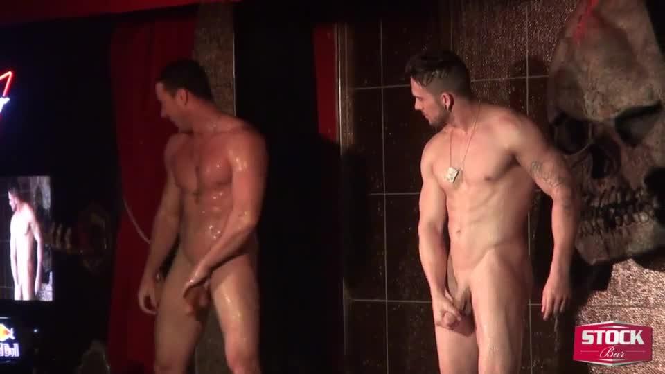 Men nude gallery naked shower-2312