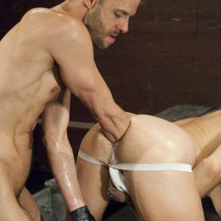 Bad Ass, Scene 2 - Evan Matthews & Michael Brandon