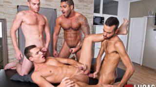 Alex Lopez, Raul Korso, Fostter Riviera & Theo Ford