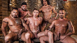 Alejandro Castillo, Viktor Rom, Bogdan Gromov, Mario Domenech, & Damien Crosse