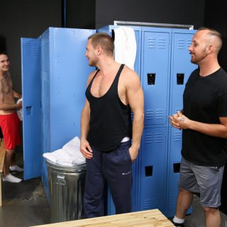 First Time 3-Way - Cameron Kincade, Dustin Steele & Hans Berlin