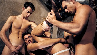 French Connections, Part 1: Temptation (Vintage) Scene 3 - Colby Taylor, Virgil Sainclair & Nick Chevalier