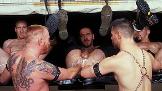 Fist For Hire 1, Scene 4 - Chris Ward, Giovanni Bellini, Harrison Quaid, Mark Evrett & Nick Nicaste