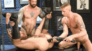 Fisting Network, Scene 1 - Daxx Reed, Ian McQueen & Mike Power