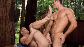 Naughty Pines 2, Scene 1 - Ryan Rose & Johnny V