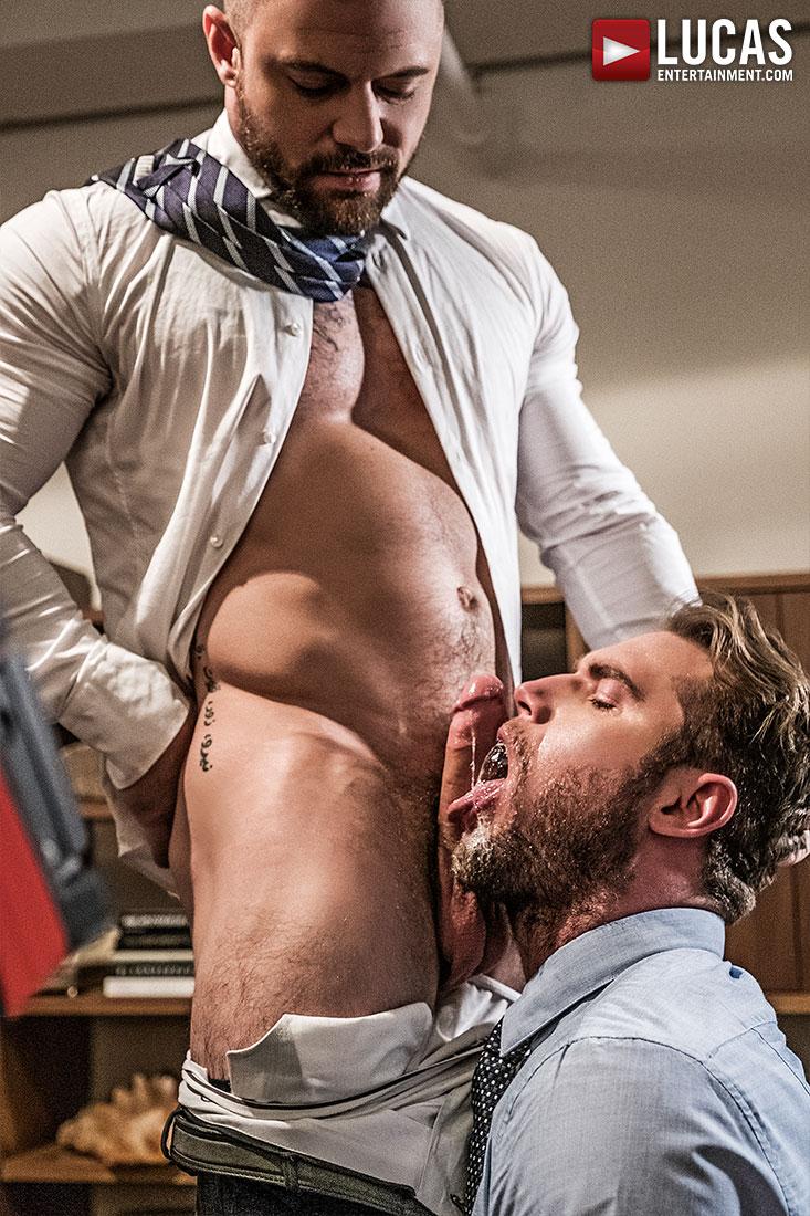 Stas landon's huge raw cock bareback fucking ace era's tight bare asshole gay porn pics galleries