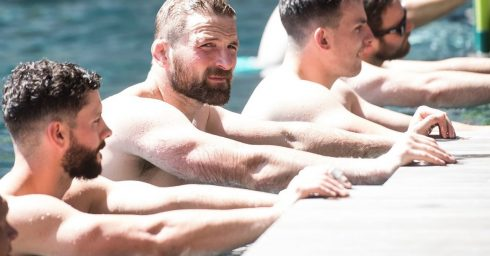 Hunks in the Pool