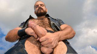 Leather Big Wolf & Axl Black