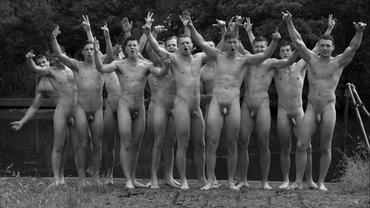 Full-Frontal Lots of Naked Young Guys