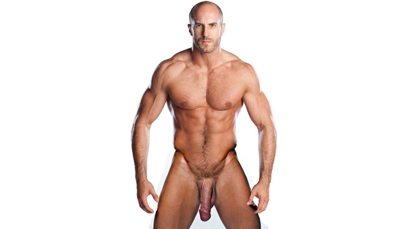 Full-Frontal Muscular Hunk with Massive Cock