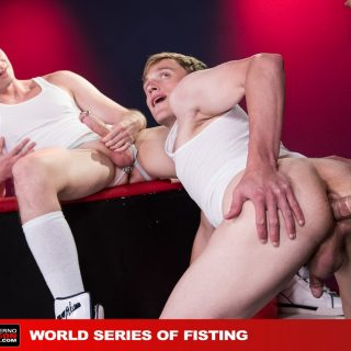 World Series Of Fisting, Scene 3 - Axel Abysse, Joey D & Colin Bryant