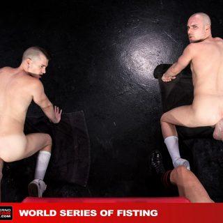 World Series Of Fisting, Scene 6 - Hugh Hunter, Axel Abysse, Joey D & Sam Syron